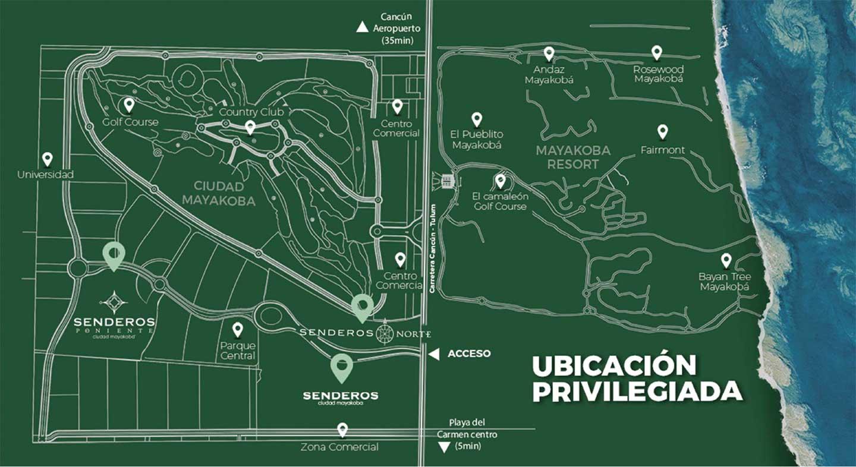 senderos-norte-ciudad-mayakoba-slide-terrenos-en-venta-playa-del-carmen-cancun-riviera-maya-mexico-ubica-mapa